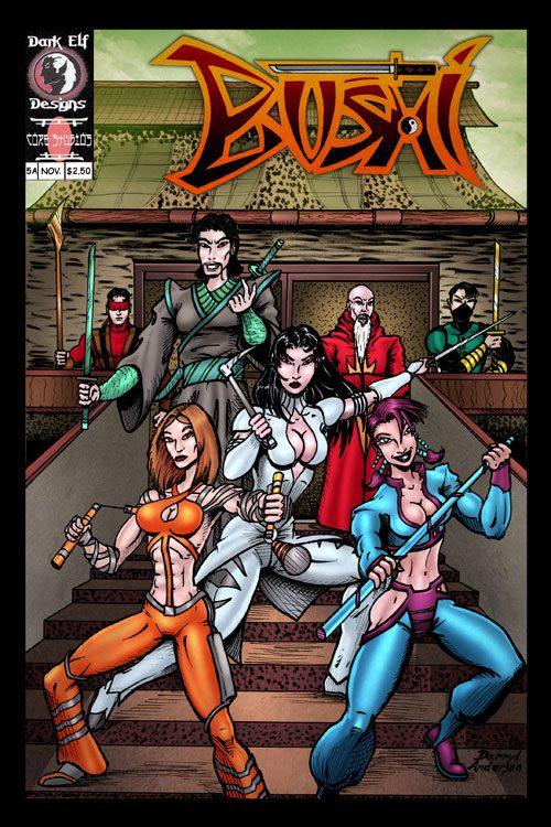 Bushi: Warrior Caste  #5B