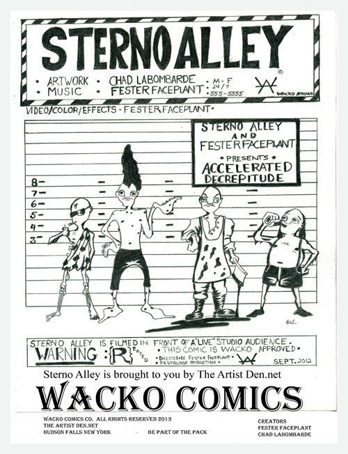 Sterno Alley #1