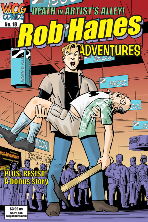 Rob Hanes Adventures #18