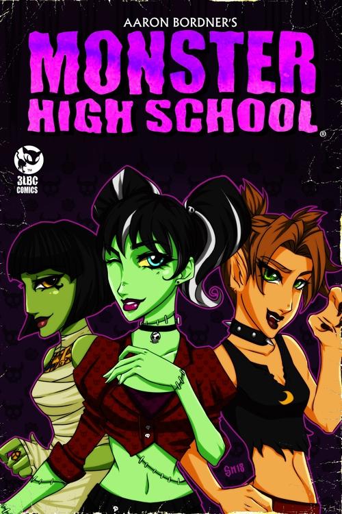 Monster High School Manga