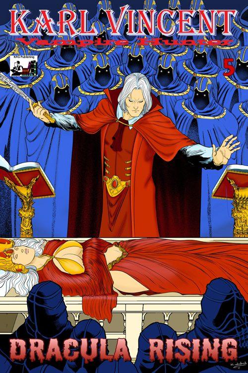 Karl Vincent Vampire Hunter Dracula Rising #5