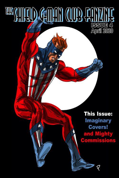 Shield G-Man Club Fanzine #4