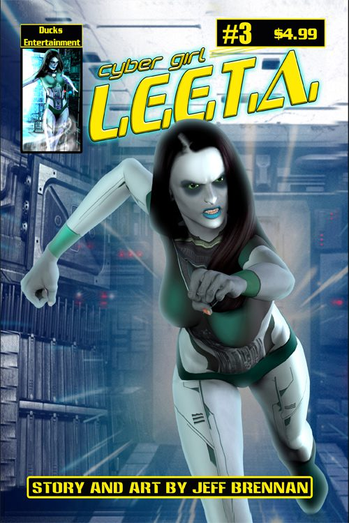 Cyber Girl Leeta #3