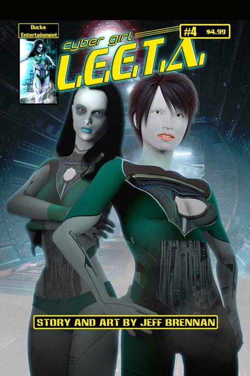 Cyber Girl Leeta #4