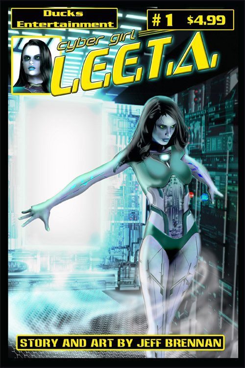 Cyber Girl Leeta #1