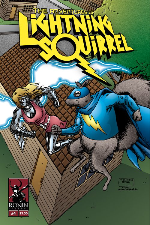 The Adventures Of Lightning Squirrel #4