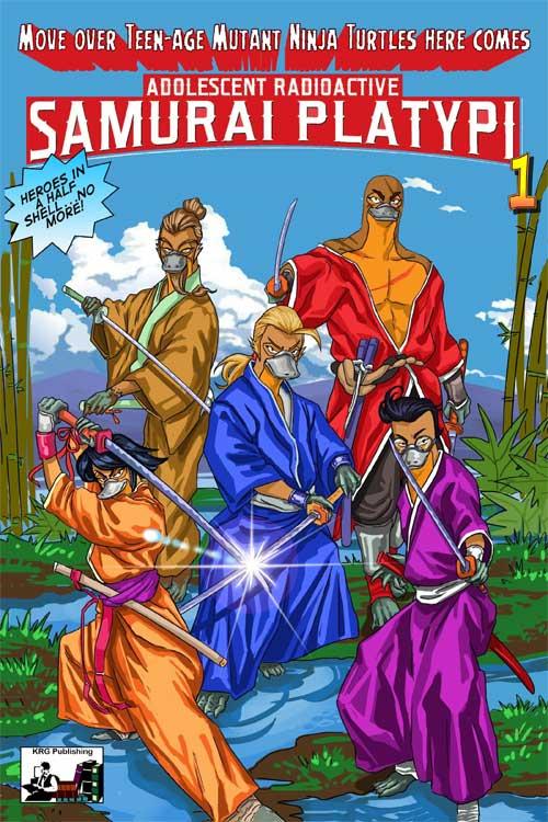 Adolescent Radioactive Samurai Platypi # 1
