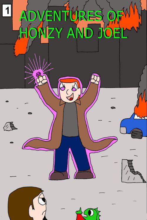Adventures of Honzy And Joel #01